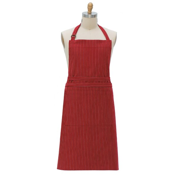 Pin Striped Apron by Red Barrel Studio