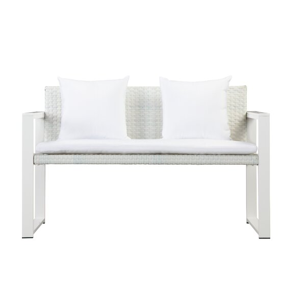 CHSTR Loveseat with Cushions by Rosecliff Heights
