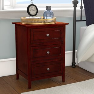 Ovellette 3 Drawer Nightstand Lark Manor