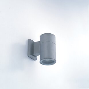 Affordable Tylor 1 Light Outdoor Cylindrical Wall Sconce By Orren Ellis