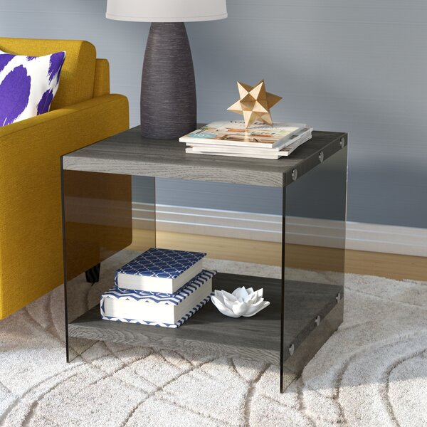 Timon End Table by Mercury Row