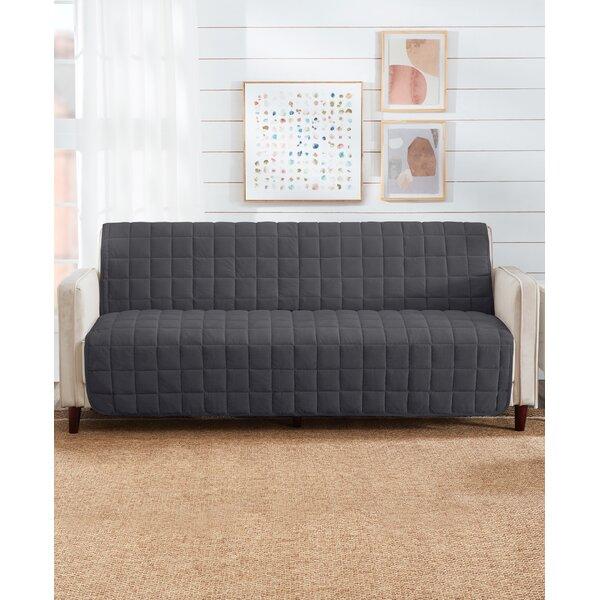 Deep Pile Box Cushion Sofa Slipcover By Sure Fit