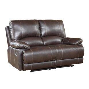 Ullery Upholstered Living Room Recliner Reclining Loveseat ByWinston Porter