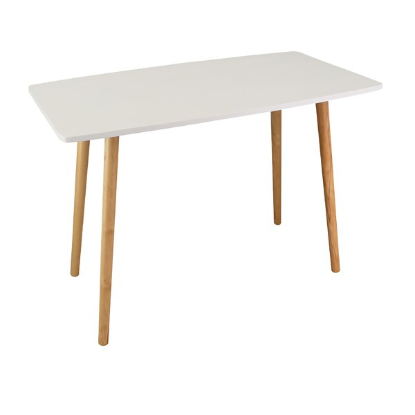 Brucknell Mid-Century Style Wooden Desk By Wrought Studio