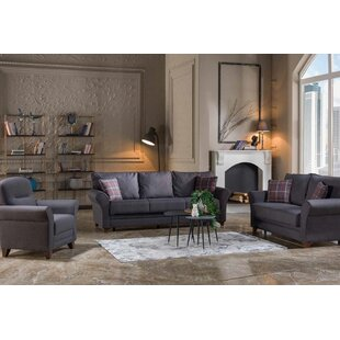 Ameina 2 Piece Sleeper Living Room Set by Red Barrel Studio®