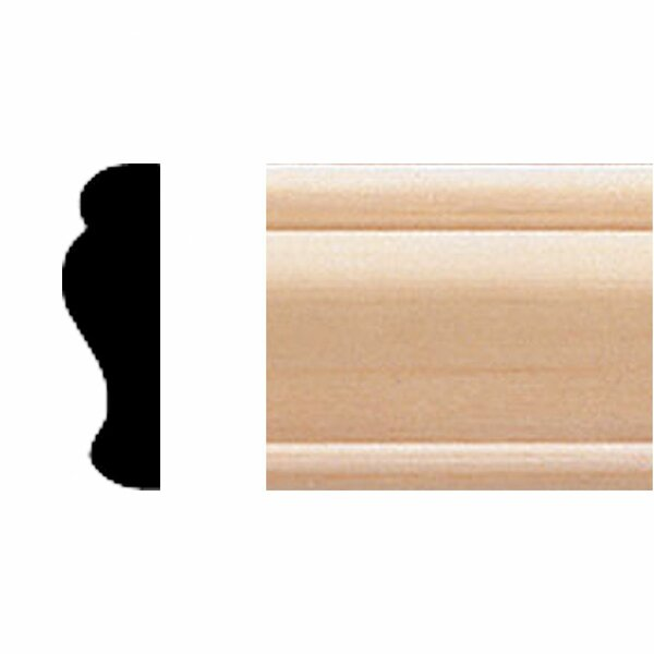 3/8 in. x 1-1/4 in. x 8 ft. Basswood Panel Moulding by Manor House