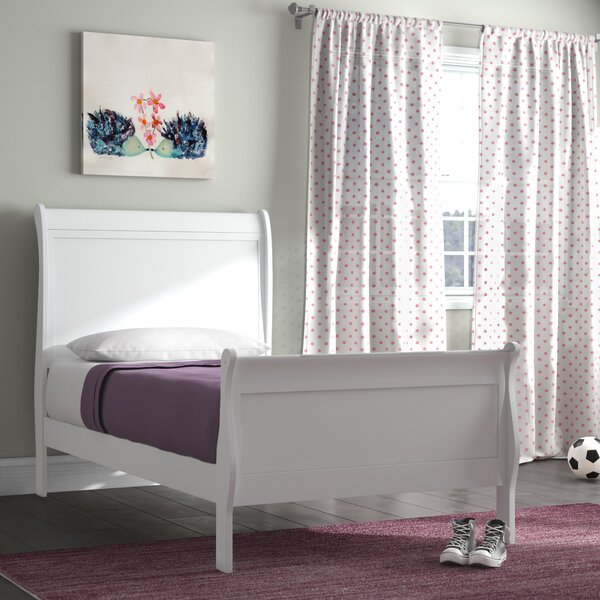 Waynesburg Sleigh Bed by Alcott Hill