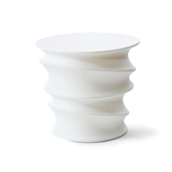 Swizzle Plastic/Resin Side Table by TONIK