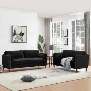 Epps 2 Piece Standard Living Room Set by Corrigan Studio®