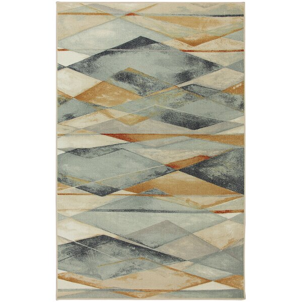 Argyle Ivory Area Rug by Corrigan Studio