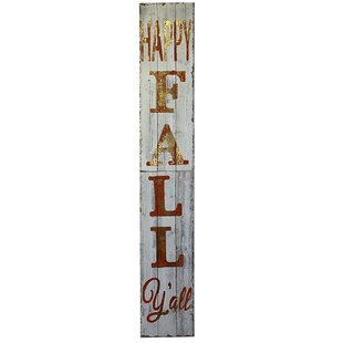 Fall Family Friends Football Wall Decor Sign approx 2 Feet long