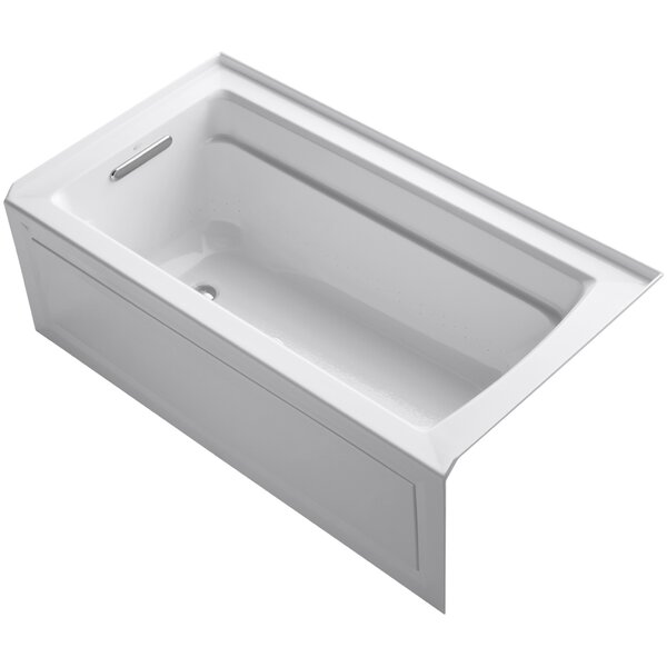 Archer Alcove Bubblemassage 60 x 32 Whirpool Bathtub by Kohler