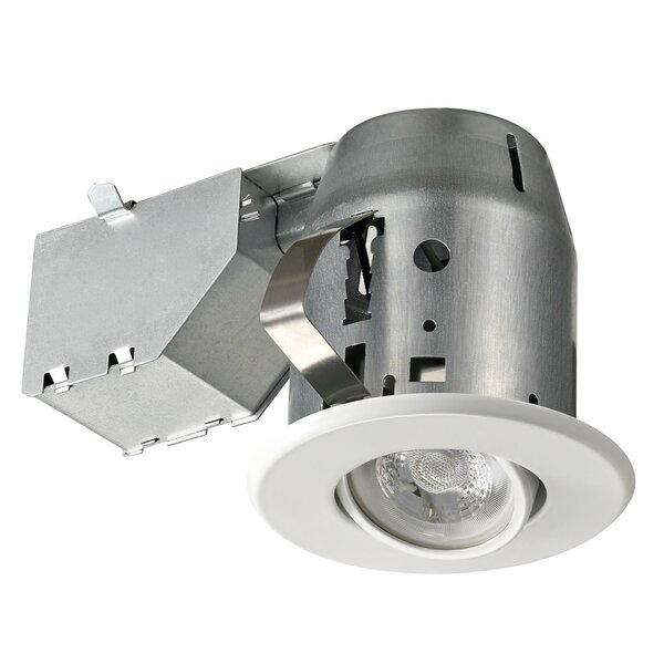 Swivel 4 Recessed Lighting Kit By Globe Electric Company.