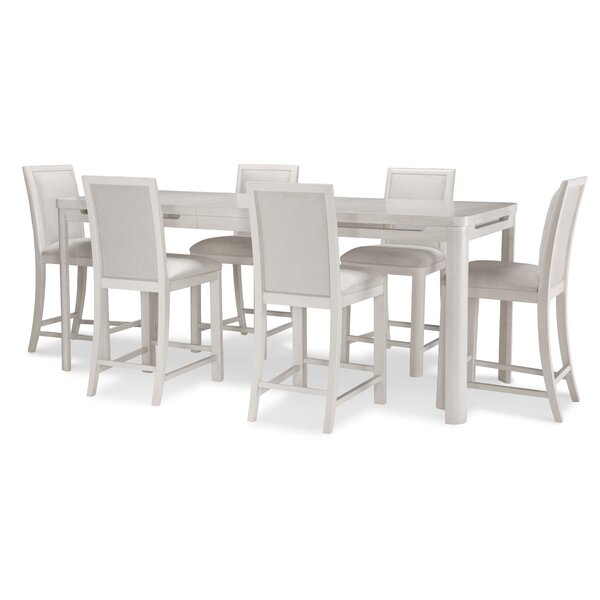 Lantigua Extendable Dining Set by Brayden Studio Brayden Studio