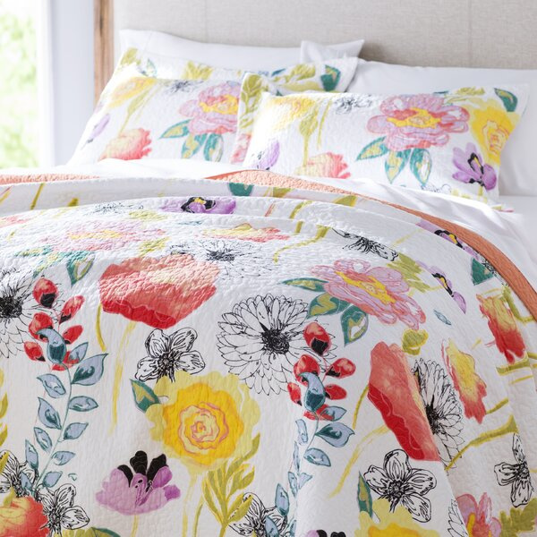 Briaroaks Reversible Quilt Set by Bungalow Rose