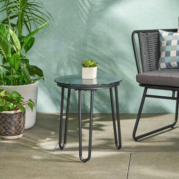 Leonard Side Table by Latitude Run
