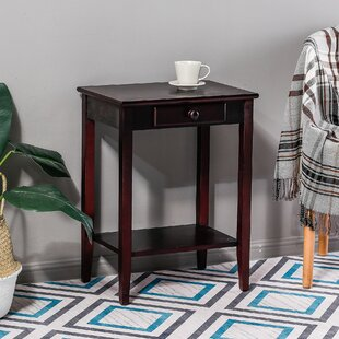 Bargain Kevin Single Drawer End Table By Longshore Tides