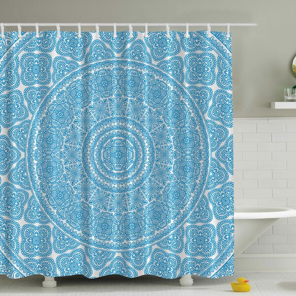 Lace Print Shower Curtain by Ambesonne