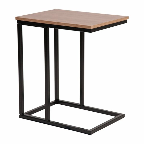 Lauretta Wood Grain Finish End Table By Ebern Designs