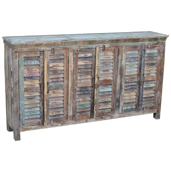 Wray Shutter Sideboard by Rosecliff Heights