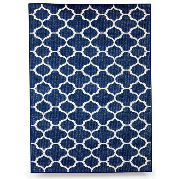 Winchester Royal Blue Indoor/Outdoor Area Rug by Budge Industries