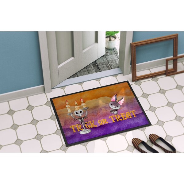 Testa Trick or Treat Doormat by The Holiday Aisle