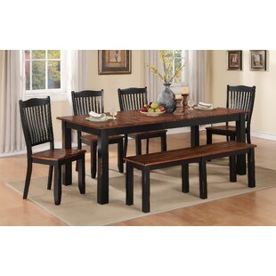 Comparison Manassa Extendable Solid Wood Dining Table By Loon Peak