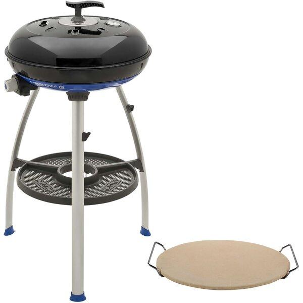 Carri Chef 1-Burner Liquid Propane Tabletop Gas Grill and Pizza Stone by Cadac