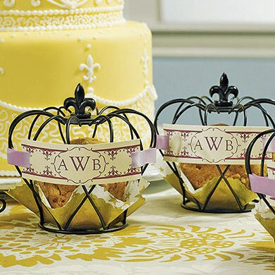 Wired Crown Place Card Holder (Set of 4) by Weddingstar