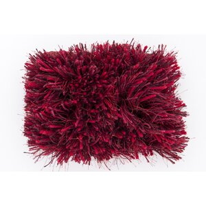 Halpern Red Burgundy Plum Rug