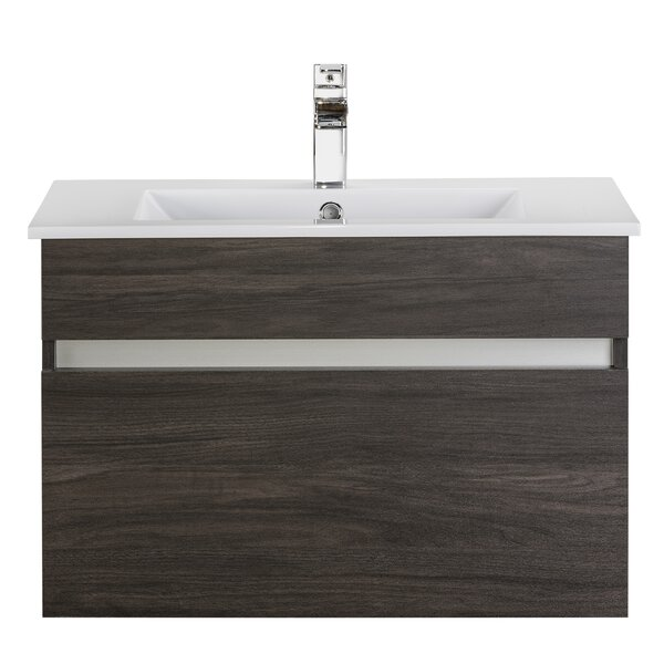 Ivory Floating 30 Single Bathroom Vanity by Cutler Kitchen & Bath