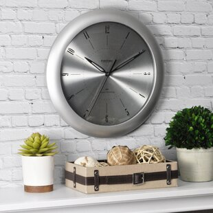 Review 11 Plasma Steel Wall Clock by FirsTime