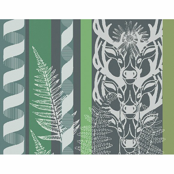 Cerf Placemat (Set of 4) by Garnier-Thiebaut Inc