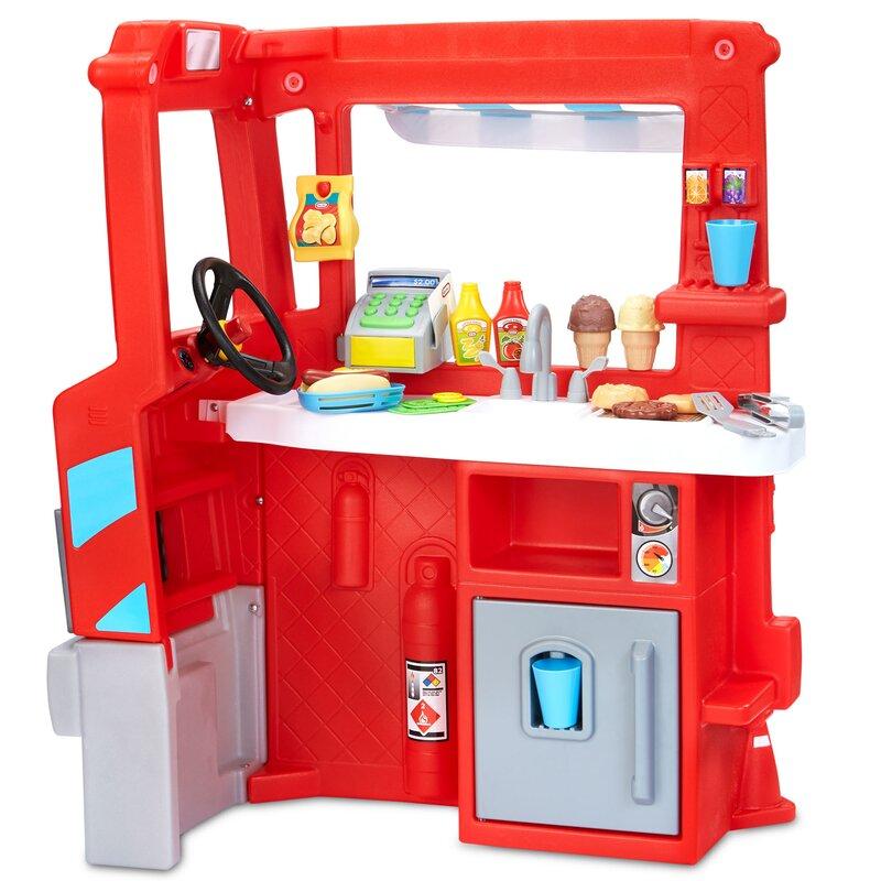 Little Tikes 2 In 1 Food Truck Kitchen