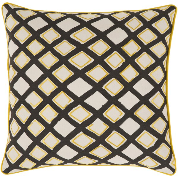 Rolon Cotton Throw Pillow by Brayden Studio