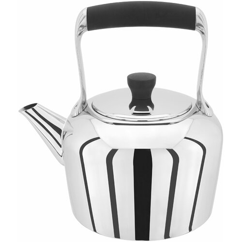 Classic Stainless Steel Stovetop Kettle Stellar Capacity: