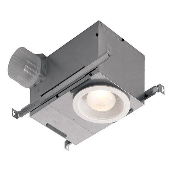 Recessed 70 CFM Bathroom Fan with Light by Broan
