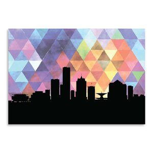Milwaukee Triangle Graphic Art by East Urban Home
