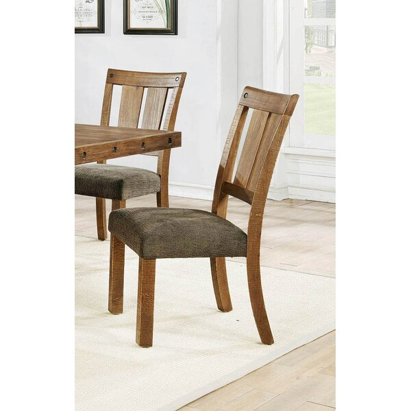 Dalouette Upholstered Dining Chair (Set Of 2) By Loon Peak