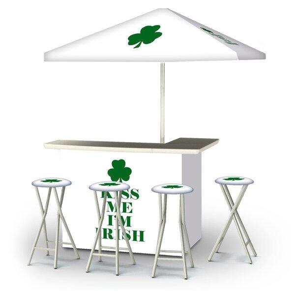 Algonac St Patricks Day Kiss Me Im Irish 6-Piece Bar Set by East Urban Home