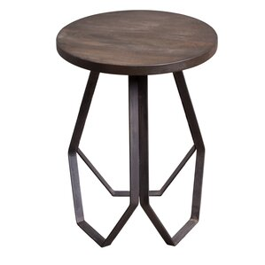 Genevieve Geometric End Table by Ivy Bronx
