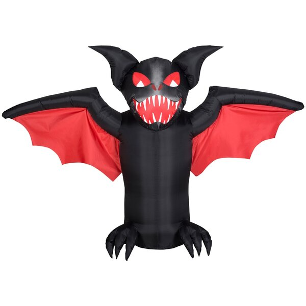 Scary Bat SM Inflatable by The Holiday Aisle