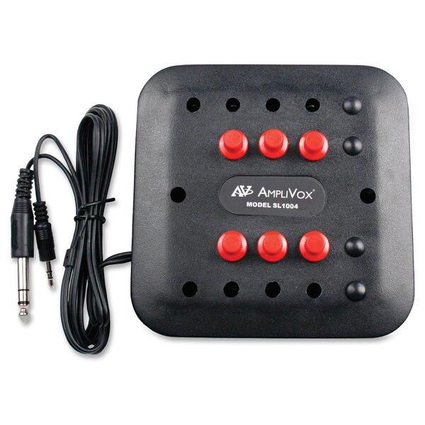 6 Station Jack Box by AmpliVox Sound Systems