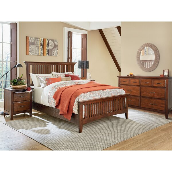 Yogyakarta Panel 3 Piece Bedroom Set by Millwood Pines