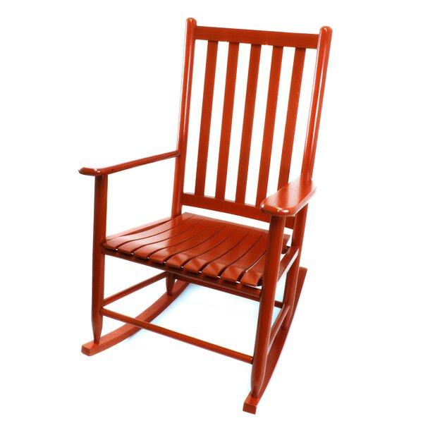 Cheltenham Hickory Rocking Chair by Charlton Home