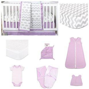 Reviews Ellie Patch Essentials 11 Piece Crib Bedding Set ByThe Peanut Shell