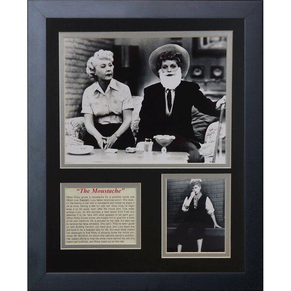 I Love Lucy Framed Memorabilia by Legends Never Die