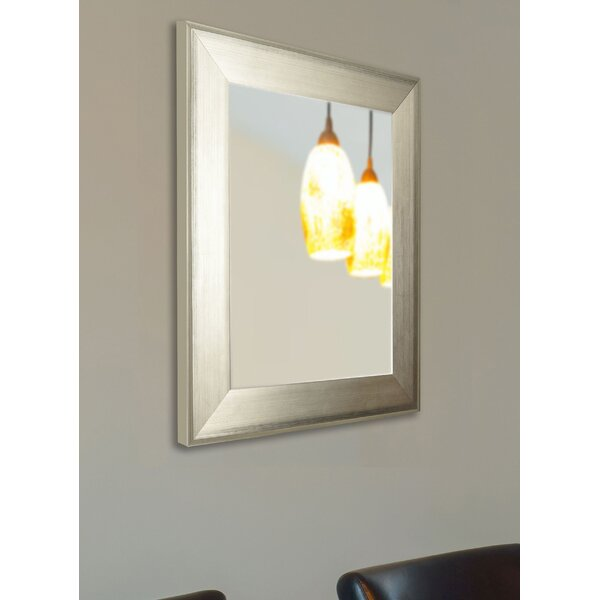 Brushed Wall Mirror by Latitude Run