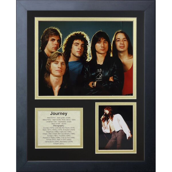 Journey Framed Memorabilia by Legends Never Die