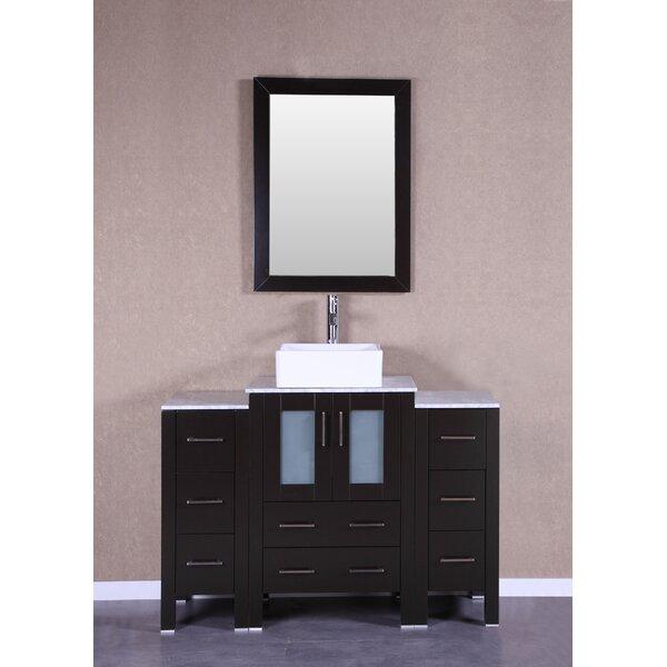 Brodeur 48 Single Bathroom Vanity Set with Mirror by Bosconi